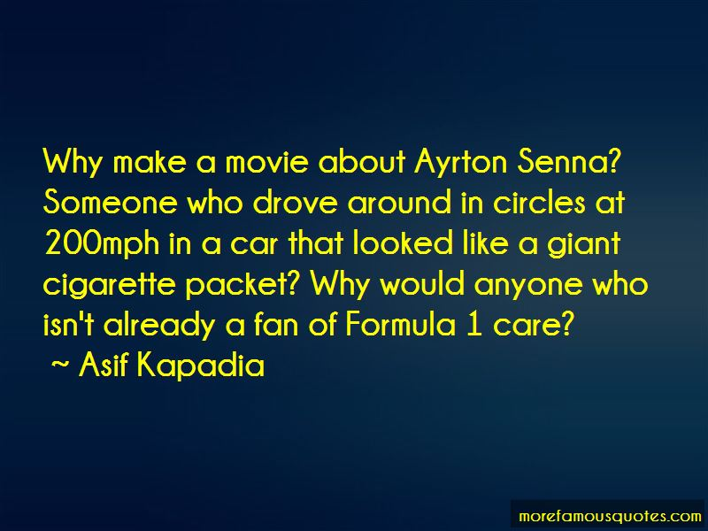 Quotes About Senna
