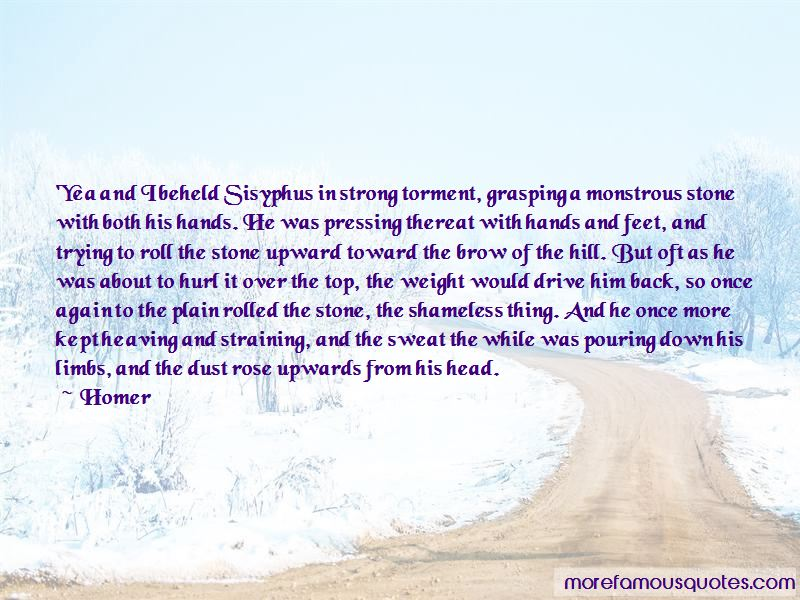 Quotes About Sisyphus