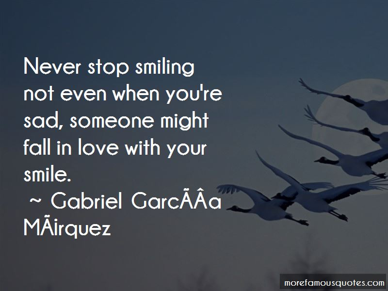 Quotes About Smiling When Your Sad