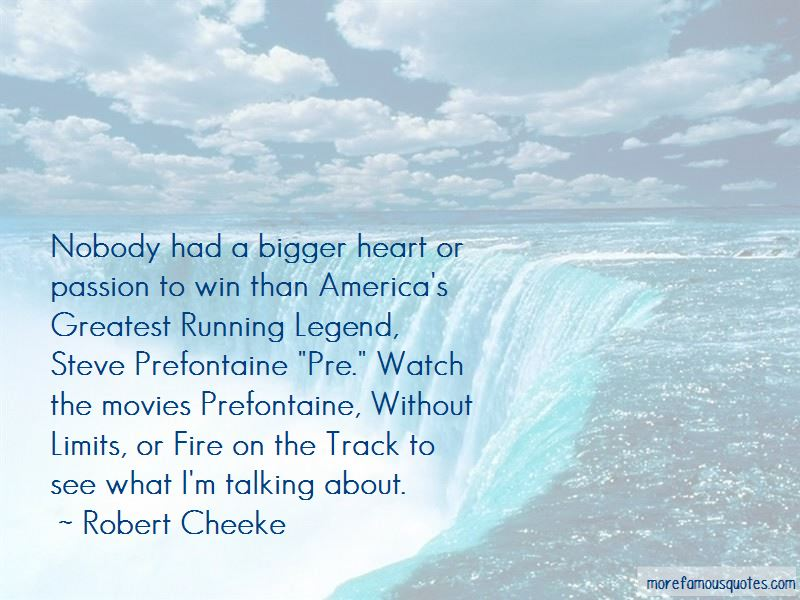 Quotes About Steve Prefontaine