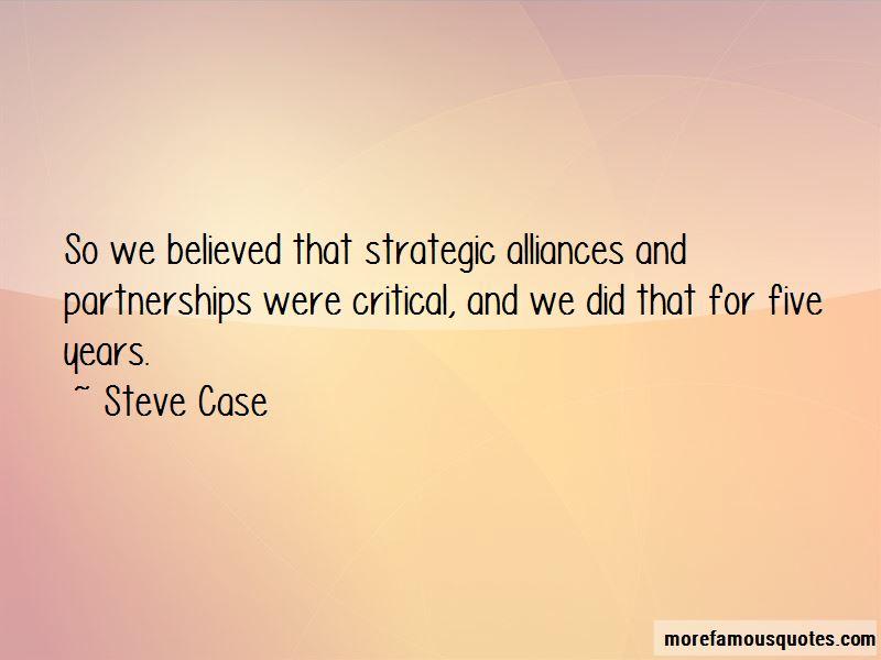 Strategic Alliances Quotes Pictures 2