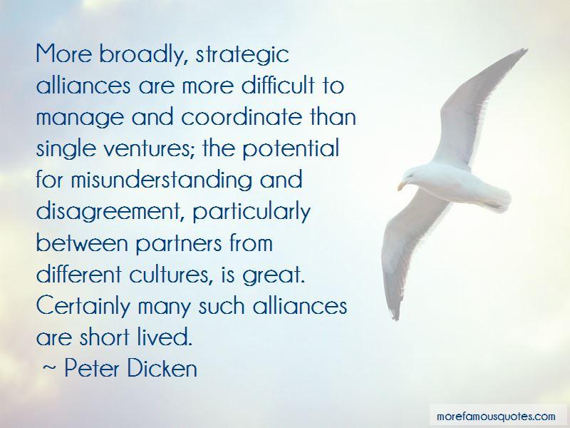 Strategic Alliances Quotes Pictures 4