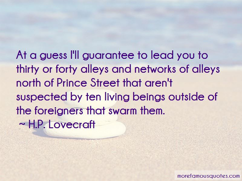 Quotes About Street Alleys