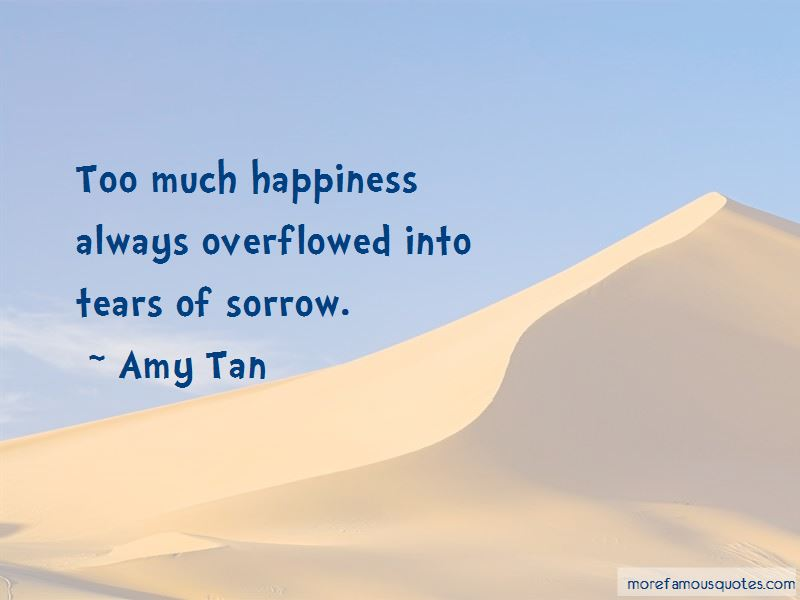 Quotes About Tears Of Sorrow