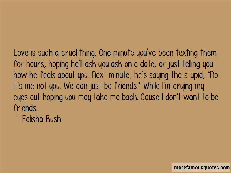 Quotes About Telling Friends You Love Them