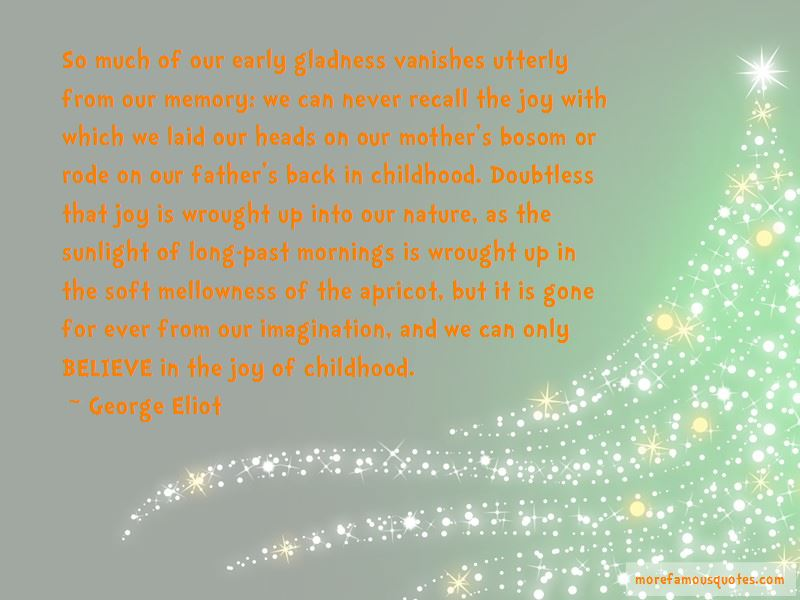 Quotes About The Joy Of Childhood