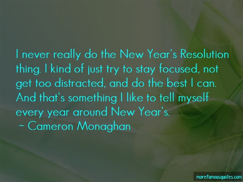 Quotes About The New Year Resolution