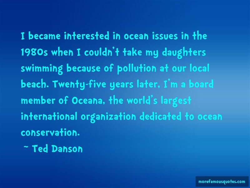 Quotes About The Ocean Pollution