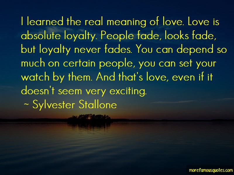 Quotes About The Real Meaning Of Love