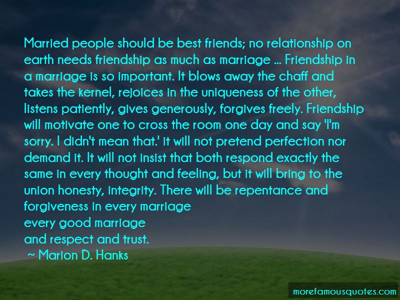 Quotes About The Union Of Marriage