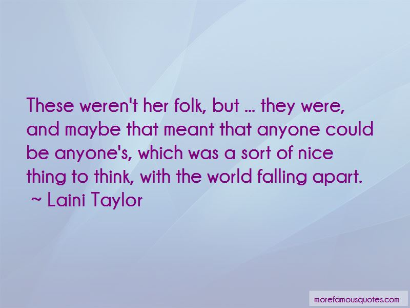 The World Falling Apart Quotes Pictures 2