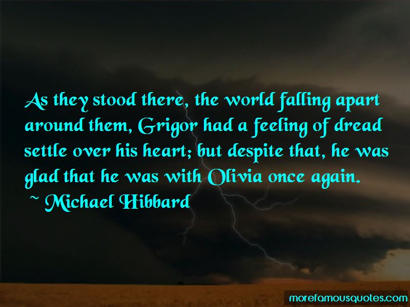 Quotes About The World Falling Apart