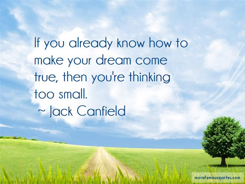 Quotes About Thinking Too Small