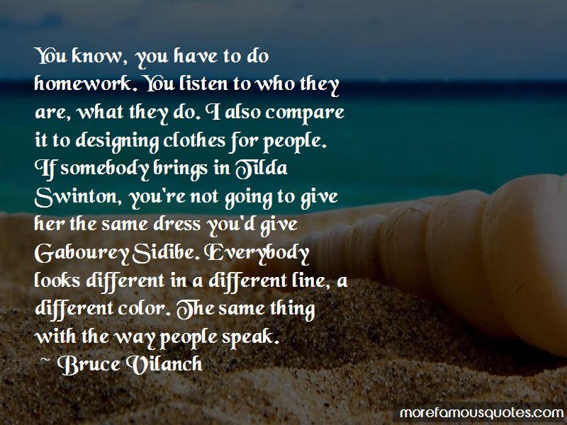 Quotes About Tilda Swinton