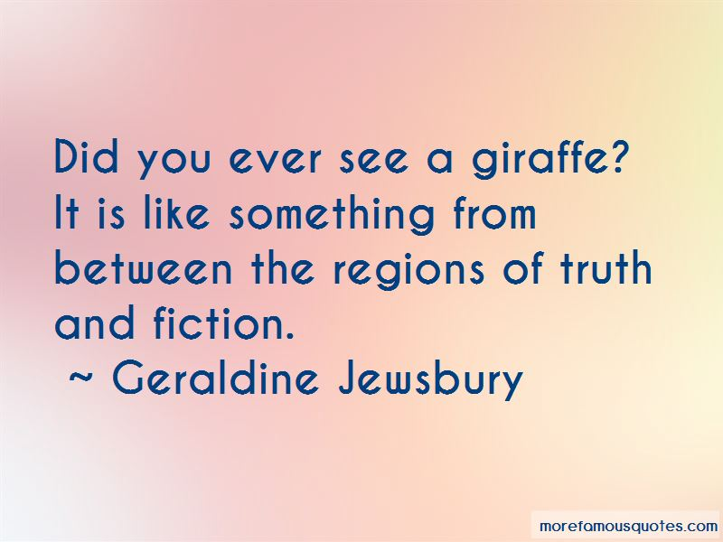 Quotes About Truth And Fiction