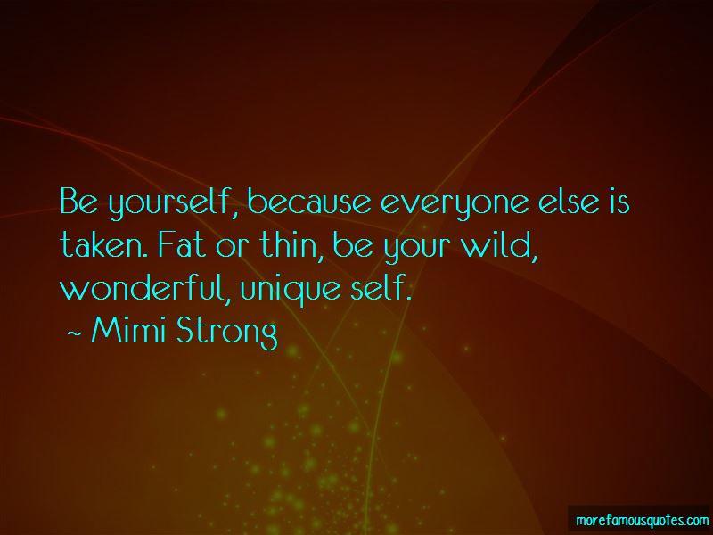 Quotes About Unique Self