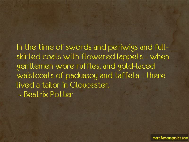 Quotes About Waistcoats