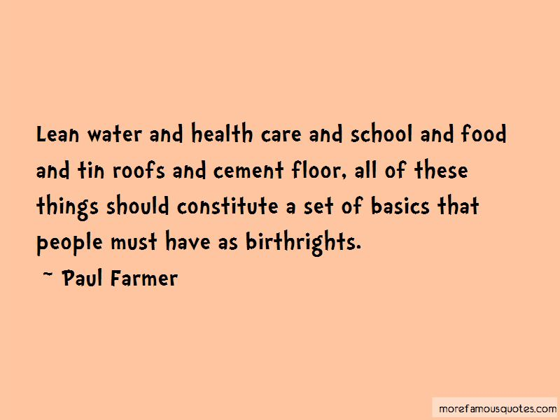 Quotes About Water And Health