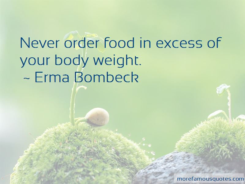 Quotes About Your Body Weight