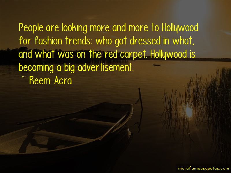 Red Carpet Fashion Quotes