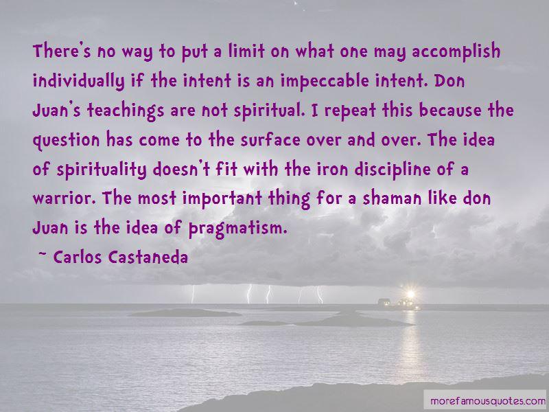 Shaman Warrior Quotes