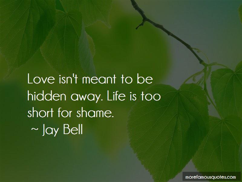 Short Hidden Love Quotes
