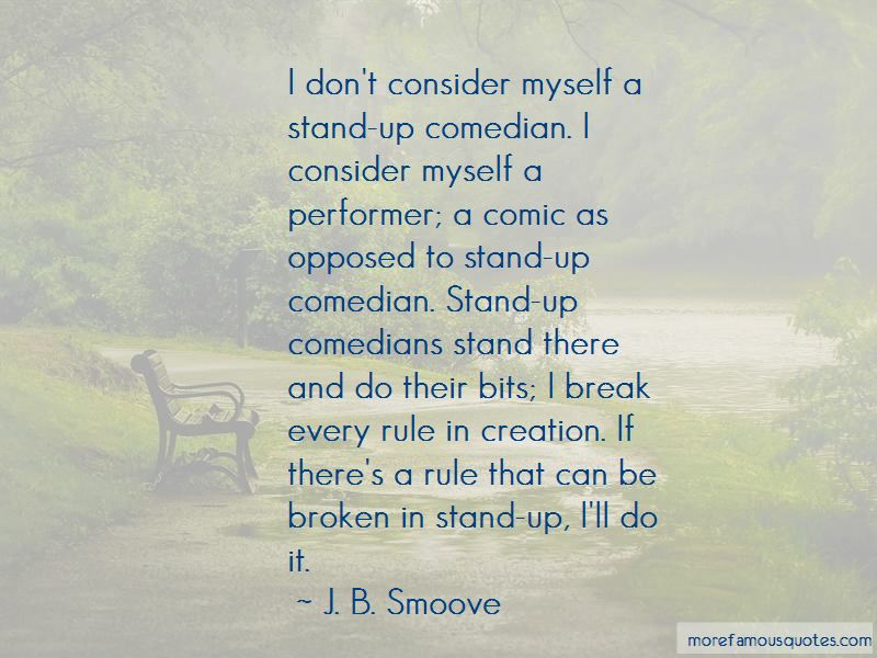 Stand Up Comedian Quotes