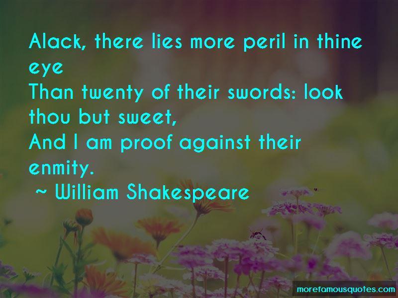 Sweet Peril Quotes