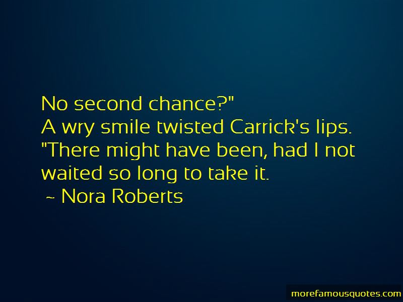Take Second Chance Quotes
