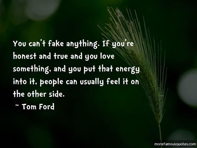 True And Honest Love Quotes