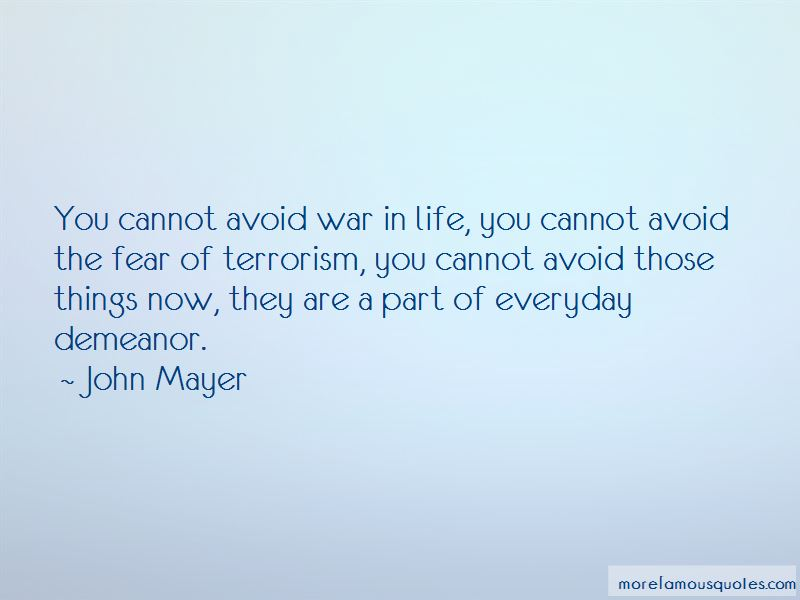 War In Life Quotes
