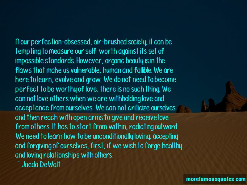 Accepting And Forgiving Quotes