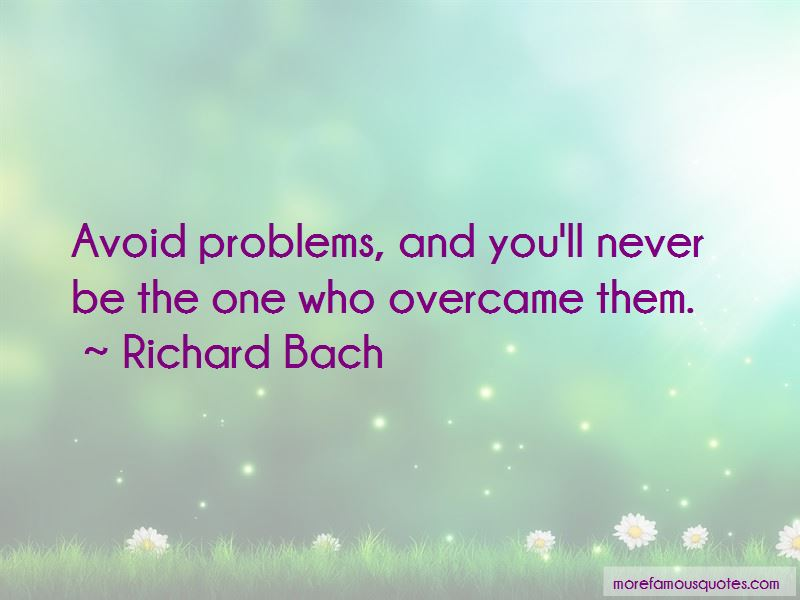 Avoid Problems Quotes