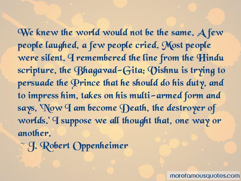 Bhagavad Gita Death Quotes