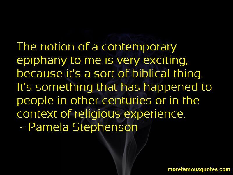 Biblical Epiphany Quotes