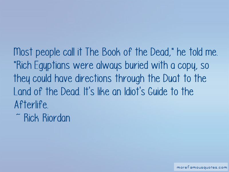 Book Of The Dead Quotes Pictures 2