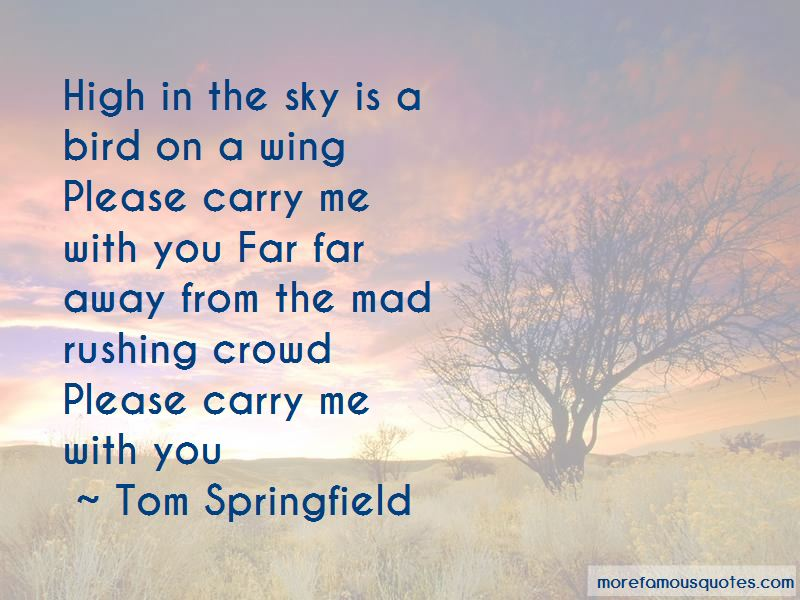 Carry Me With You Quotes