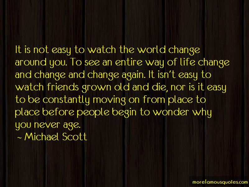 Change Is Not Easy Quotes