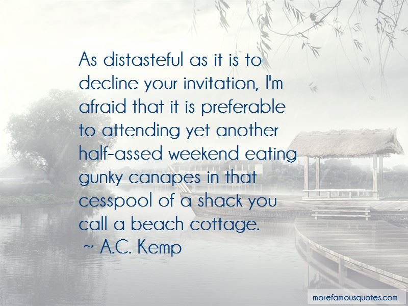 Cottage Weekend Quotes