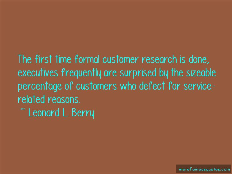 Customer Service First Quotes