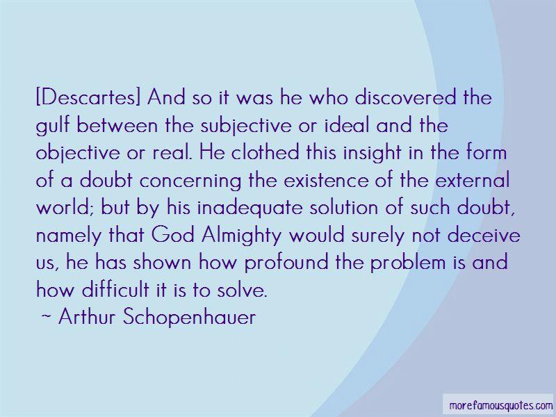 Descartes On God Quotes Pictures 3