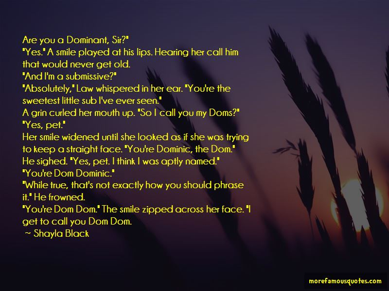Dom Sub Quotes: top 7 quotes about Dom Sub from famous authors