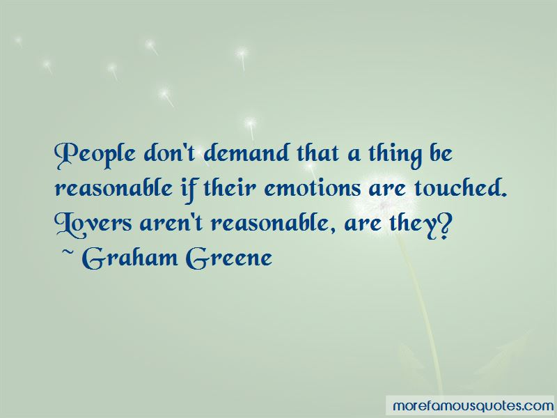 Don't Demand Quotes