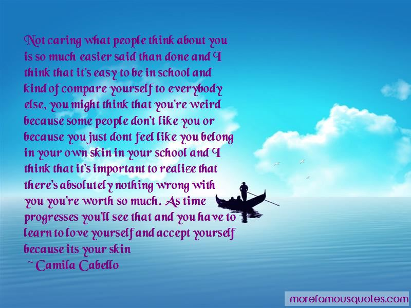 Don't Just Think About Yourself Quotes