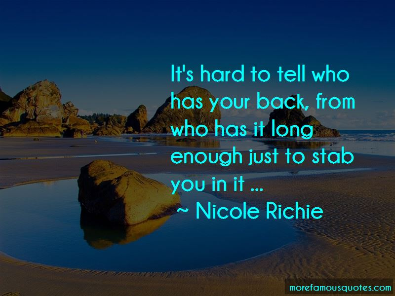 Has Your Back Quotes Pictures 2