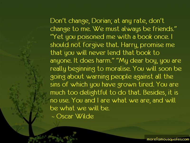 I Will Not Change For Anyone Quotes