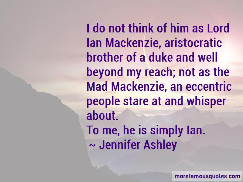 Ian Mackenzie Quotes