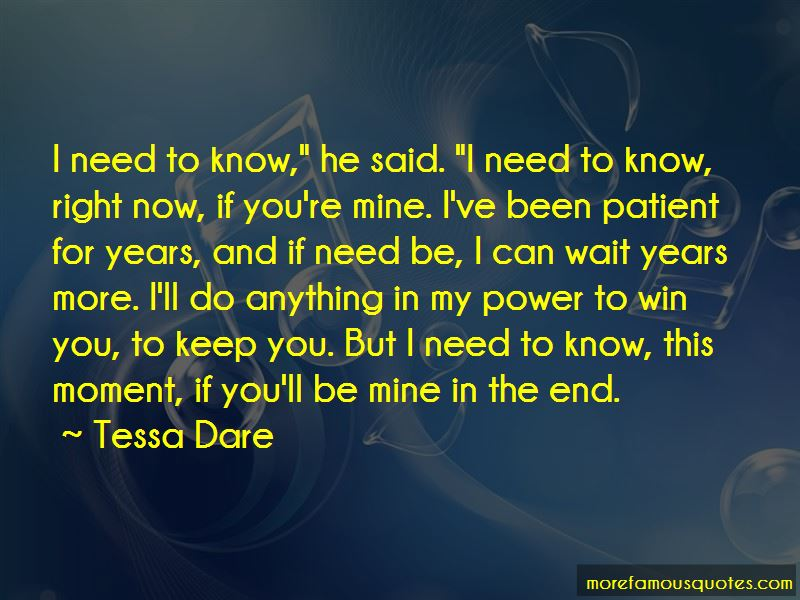 If You're Mine Quotes