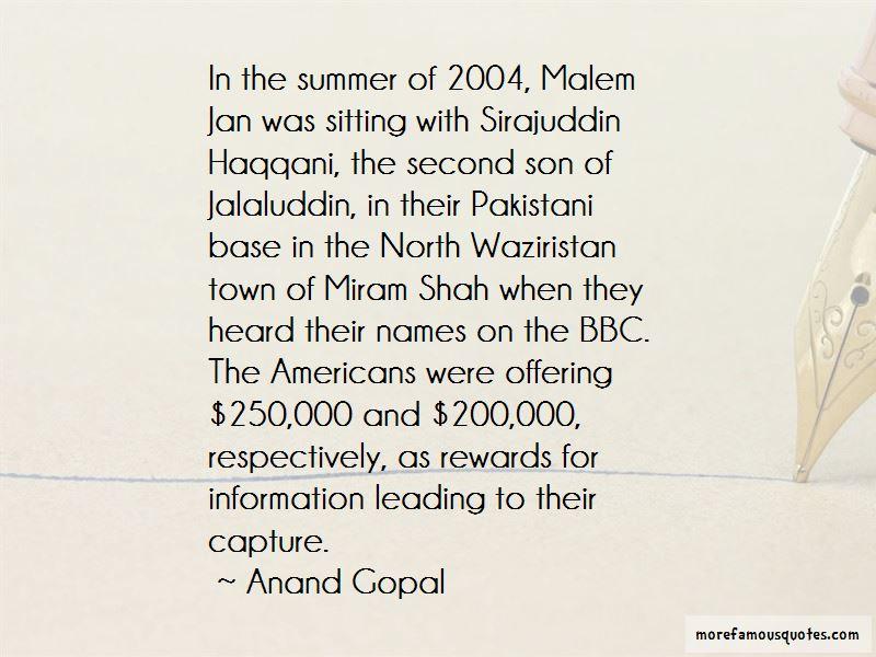 Jalaluddin Haqqani Quotes