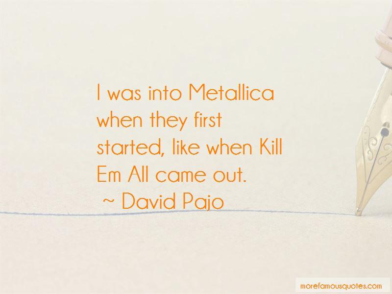 Kill Em All Quotes